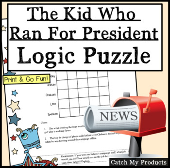 The Kid Who Ran For President Logic Puzzle About Election Plans