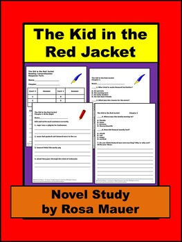 The Kid in the Red Jacket Book Unit