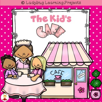 The Kid's Cafe Dramtic Play / Writing Center Bundle