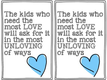 The Kids Who Need The Most Love