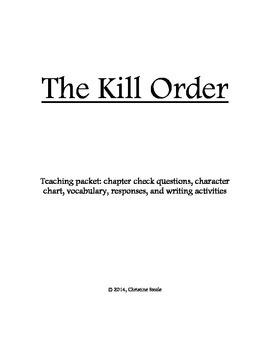 The Kill Order teaching packet