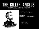 The Killer Angels Characterization Activity