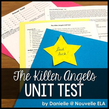The Killer Angels Unit Test
