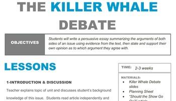 The Killer Whale Debate