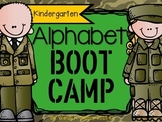 The Kindergarten Alphabet BOOT CAMP Pack