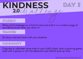 The Kindness Challenge 2.0