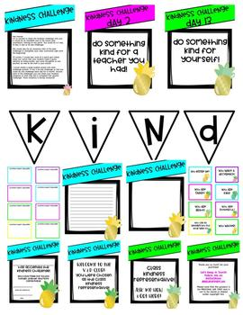 The Kindness Challenge! A 20 Day Classroom Challenge to Encourage Kindness