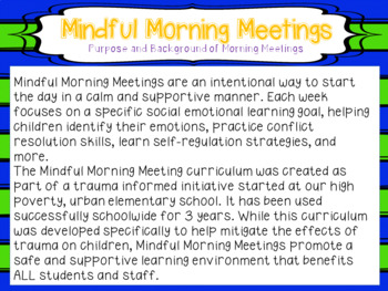 Mindful Morning Meetings: The Kindness Project
