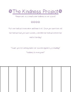The Kindness Project