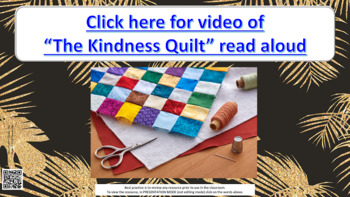 """The Kindness Quilt"" Friendship Guidance Lesson w links to 5 videos"