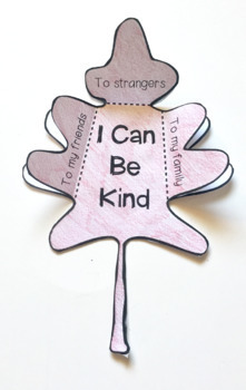 The Kindness Tree: A Fall Activity