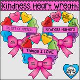 Kindness Heart Wreath Craftivity