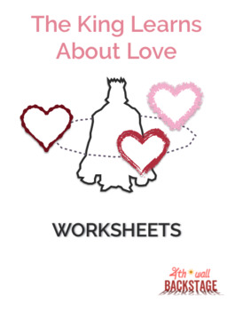 The King Learns About Love - Worksheets