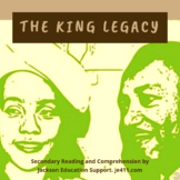 The King Legacy - Secondary Literacy Activity