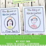 The King of Kindergarten: My Very Own *Back-to-School Storybook* Activity
