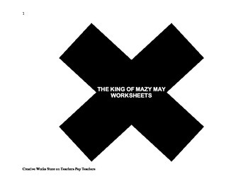 The King of Mazy May - Reading Comprehension Quiz/Test and Story Elements
