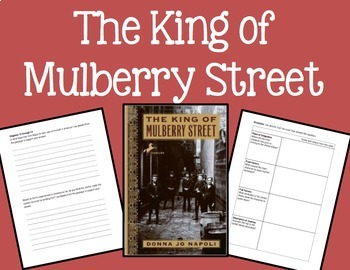 The King of Mulberry Street [Literacy Companion Packet]