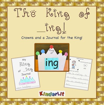 The King of _Ing Crown and Writing Journal - FREE