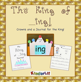 The King of Ing Crown and Writing Journal  FREEBIE
