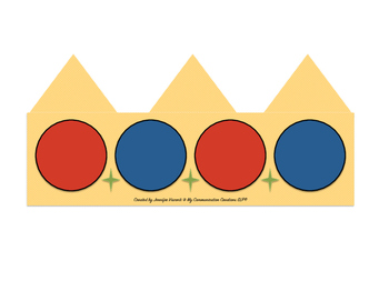 The King's Crown: Speech Therapy Cut + Paste Activity { Initial /K/ Sound }