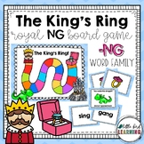 The King's Ring -NG Word Family Board Game