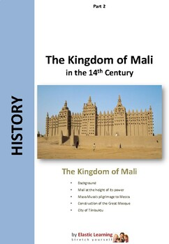 The Kingdom of Mali at the height of its power