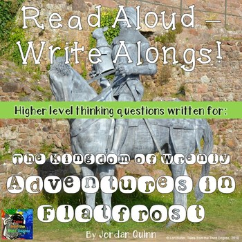 The Kingdom of Wrenly Adventures in Flatfrost Read Aloud Write Along Book Study