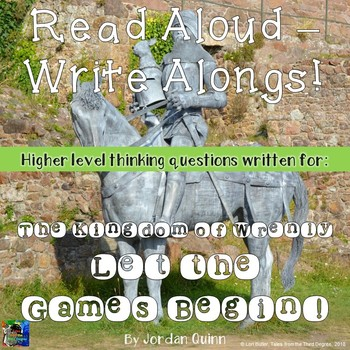 The Kingdom of Wrenly Let the Games Begin Read Aloud Write Along Book Study