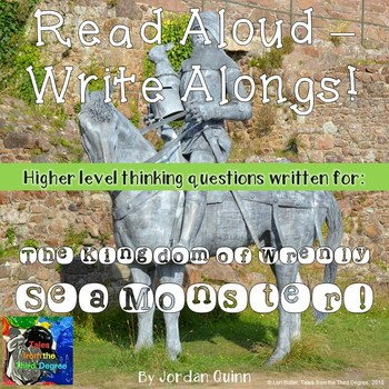 The Kingdom of Wrenly Sea Monster Read Aloud Write Along Book Study