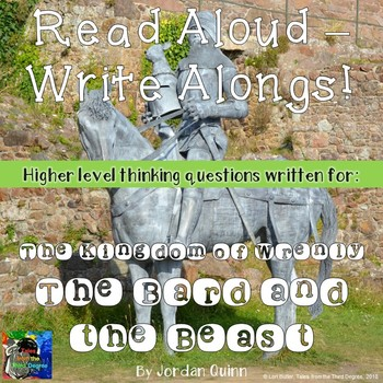 The Kingdom of Wrenly The Bard and the Beast Read Aloud Write Along Book Study
