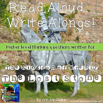 The Kingdom of Wrenly: The Lost Stone Read Aloud Write Along Book Study