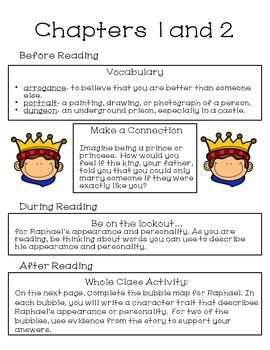 The King's Equal Characterization Packet and Test