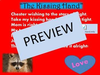 The Kissing Hand- Activities to celebrate Chester and Kindness!