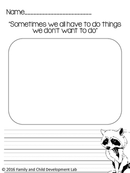 The Kissing Hand Book Extension Study with Activities and Printables