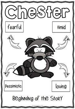 The Kissing Hand - Character Trait Activities - Back to School