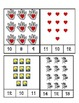 The Kissing Hand - Count and Clip Cards #1-24