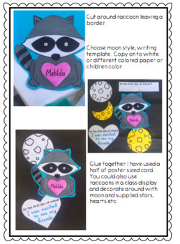 The Kissing Hand Craftivity with Writing Activities.