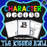 The Kissing Hand Activities - Find the Evidence - Character Traits Writing