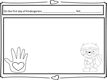 The Kissing Hand First Day Activity