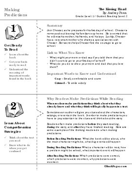 The Kissing Hand Lesson Plans & Activities Package, First Grade (CCSS)
