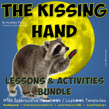 The Kissing Hand Reading Lessons & Activities w/ Interacti