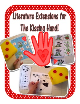 The Kissing Hand Literature Extensions, Centers, Games, and Worksheets