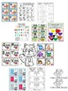 The Kissing Hand Math & Literacy Pack (30+centers) CCSS