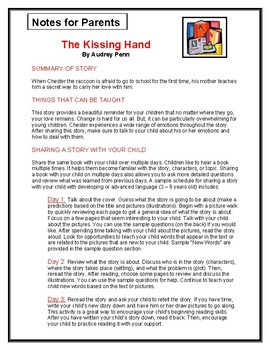 The Kissing Hand Parent Notes