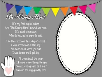 The Kissing Hand Poem: A Family Keepsake from the First Day of School