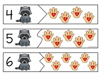 The Kissing Hand Pre-K Math Centers Pack