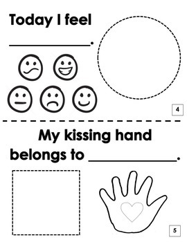 photograph relating to Kissing Hand Printable named The Kissing Hand Printable E-book Video game Developing Connections