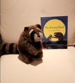 The Kissing Hand Raccoon Puppet