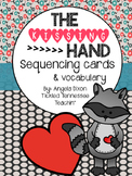 The Kissing Hand Sequencing Cards Activity