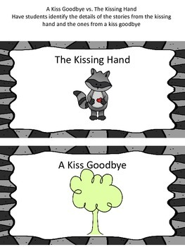 The Kissing Hand Series Literacy and Math Centers